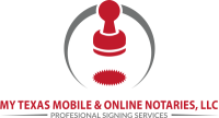My Texas Mobile and Online Notaries Logo